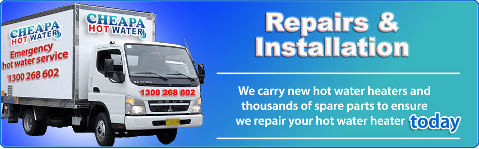 hot water repairers central coast